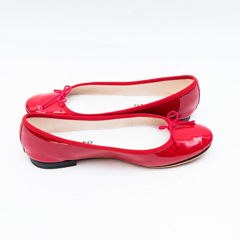 レペット パテント 赤 レッド BB バレエシューズ サイズ39 レディース