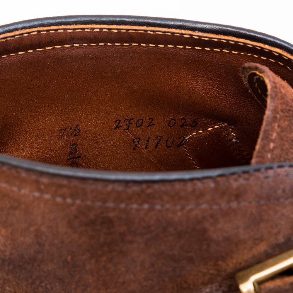 オールデン 91702 ジョージブーツ ヌバック サイズ7.5D