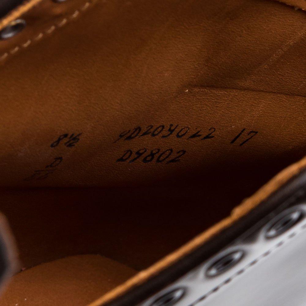 オールデン D9802 パンチドキャンプトゥ ブーツ シガー コードバン レアカラー サイズ8.5EE