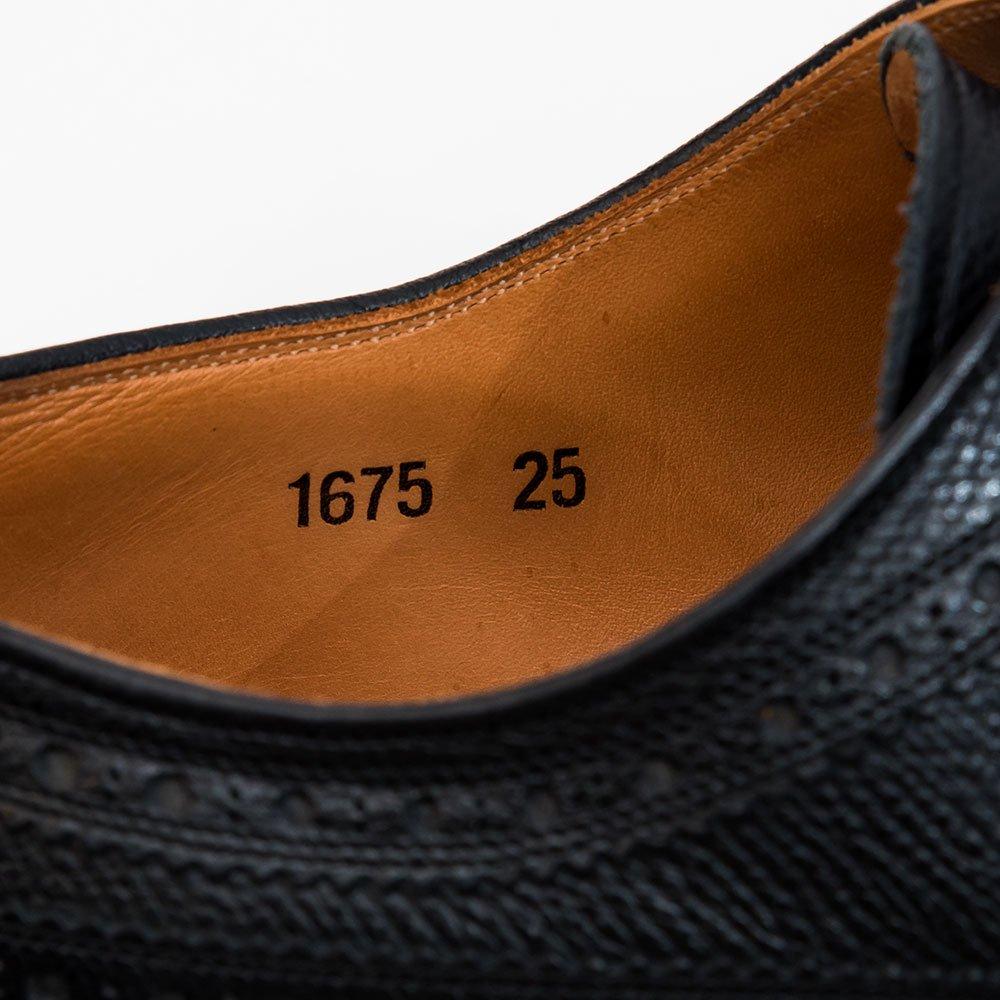 スコッチグレイン 1675 ロングウィングチップ  サイズ25EE