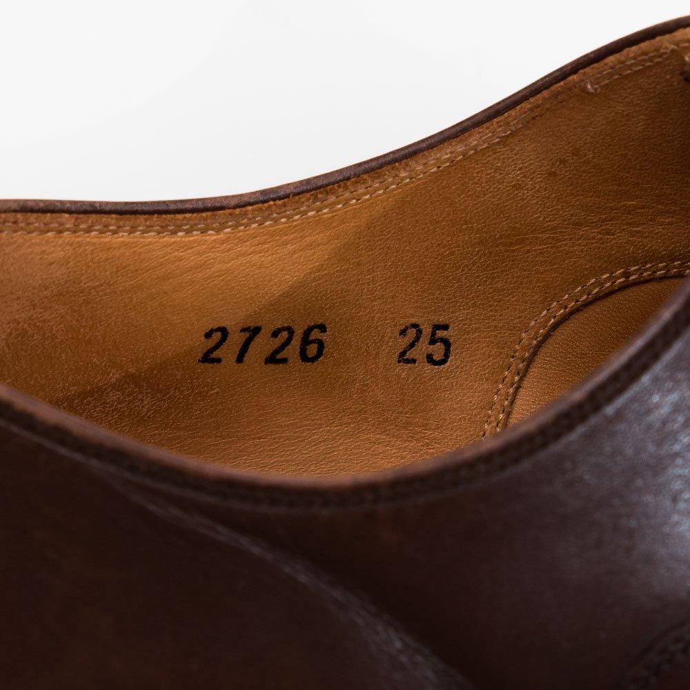 スコッチグレイン 2726 シャインオアレイン ストレートチップ サイズ25EEE
