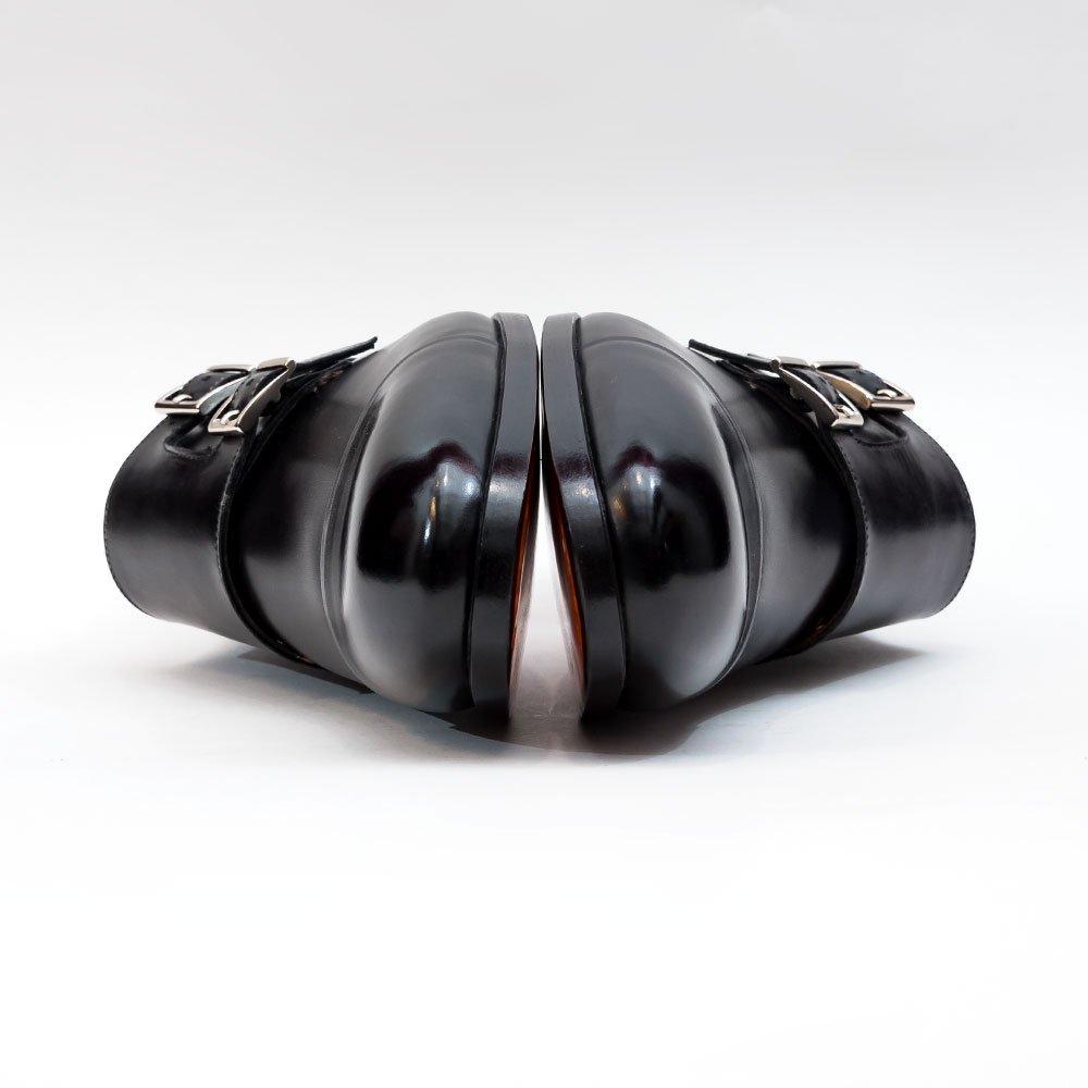 サントーニ ダブルモンク ブラック サイズ7.5