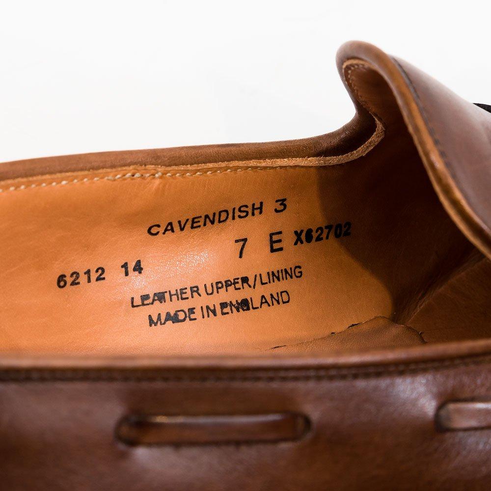 クロケット&ジョーンズ CAVENDISH 3【キャベンディッシュ】 タッセルローファー  サイズ7E