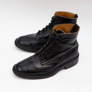 トリッカーズ 563419 STOW【ストウ】カントリーブーツ ブラック サイズ7.5Fitting5