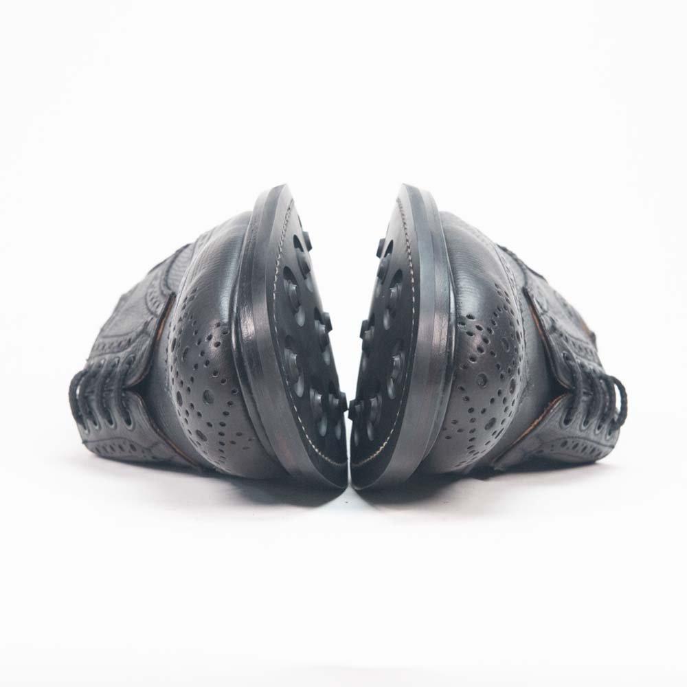 トリッカーズ M5633 BOURTON【バートン】 ウィングチップ フルブローグ レアカラー サイズ7.5Fitting5
