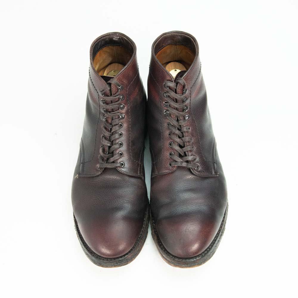 オールデン 45624H プレーントゥ ブーツ グレインレザー モディファイドラスト サイズ9.5D