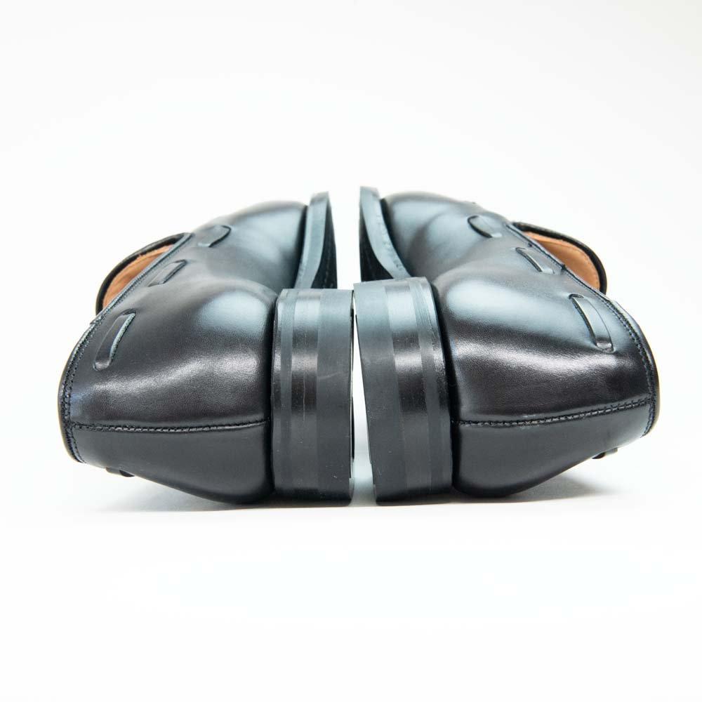 クロケット&ジョーンズ CAVENDISH【キャベンディッシュ】2 ブラック タッセルローファー サイズ6E