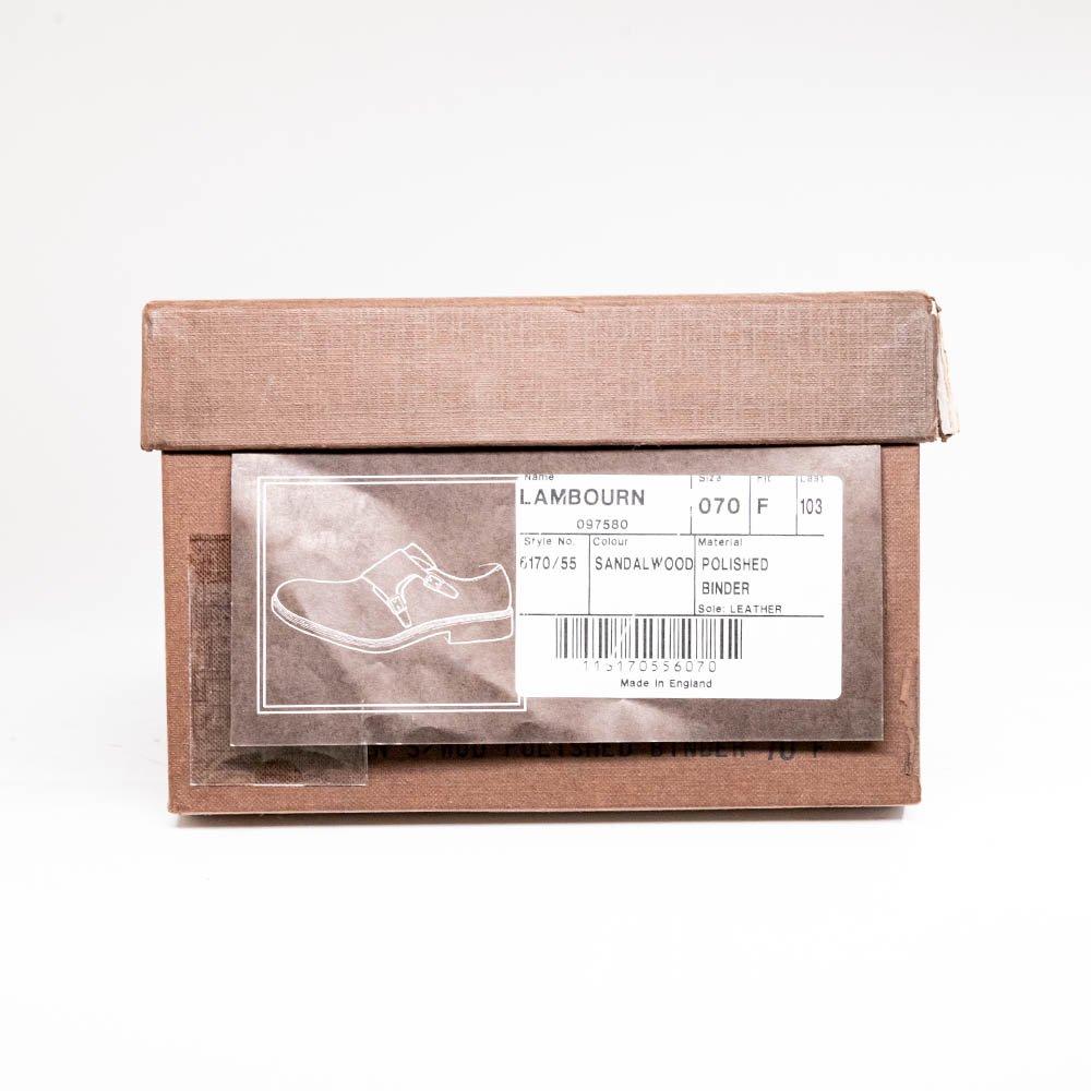 チャーチ LAMBOURN(ランボーン)ダブルモンク サンダルウッド ポリッシュドバインダー サイズ70F