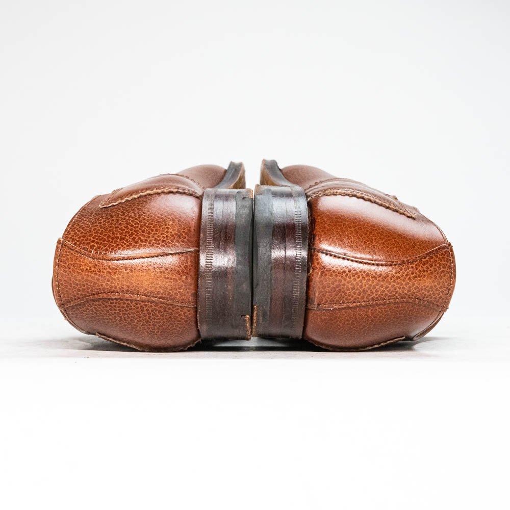 ロイドフットウェア ギリーシューズ プレーントゥ グレインレザー ブラウン レディース サイズ4