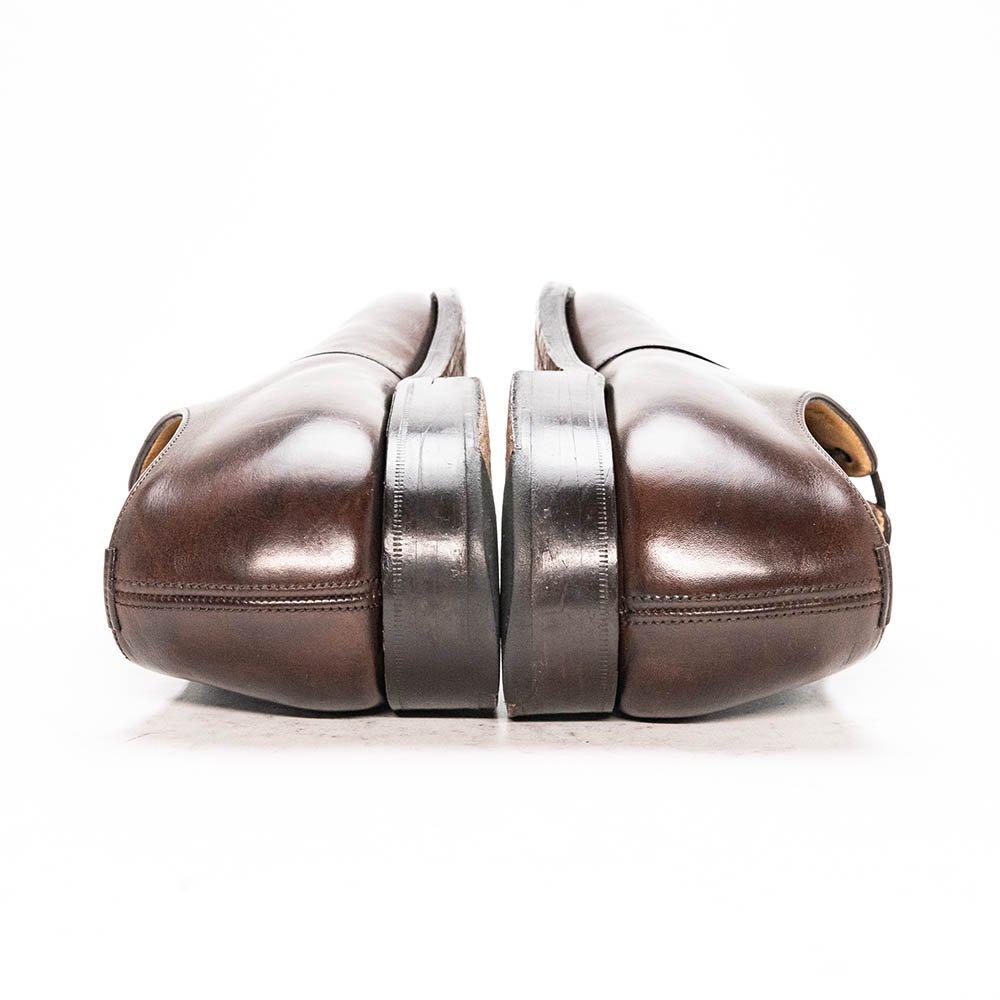 チャーチ CONSUL【コンサル】内羽根ストレートチップ ネバダカーフ ダークブラウン サイズ70F