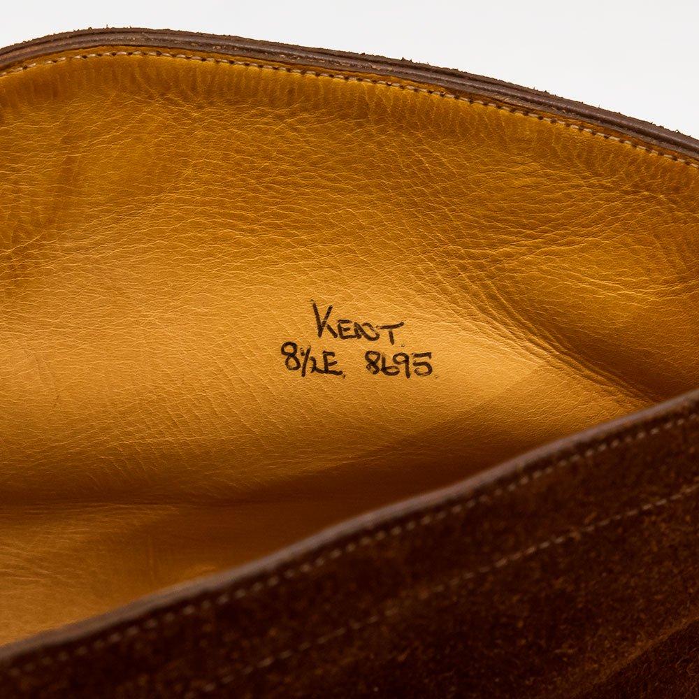 ジョンロブ KENT【ケント】チャッカブーツ ブラウン スエード 旧ロブ サイズ8.5E
