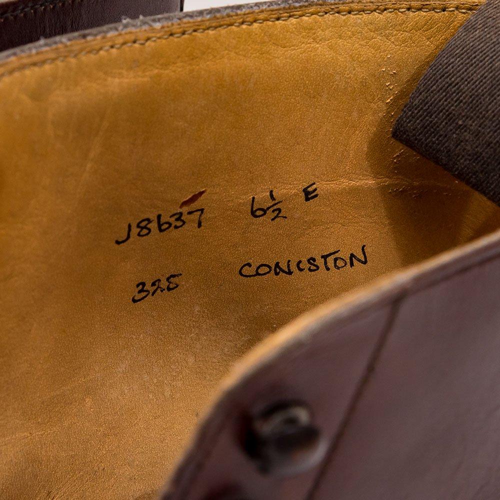 クロケット&ジョーンズ CONISTON【コニストン】レースアップブーツ ブラウン ダイナイトソール サイズ6.5E