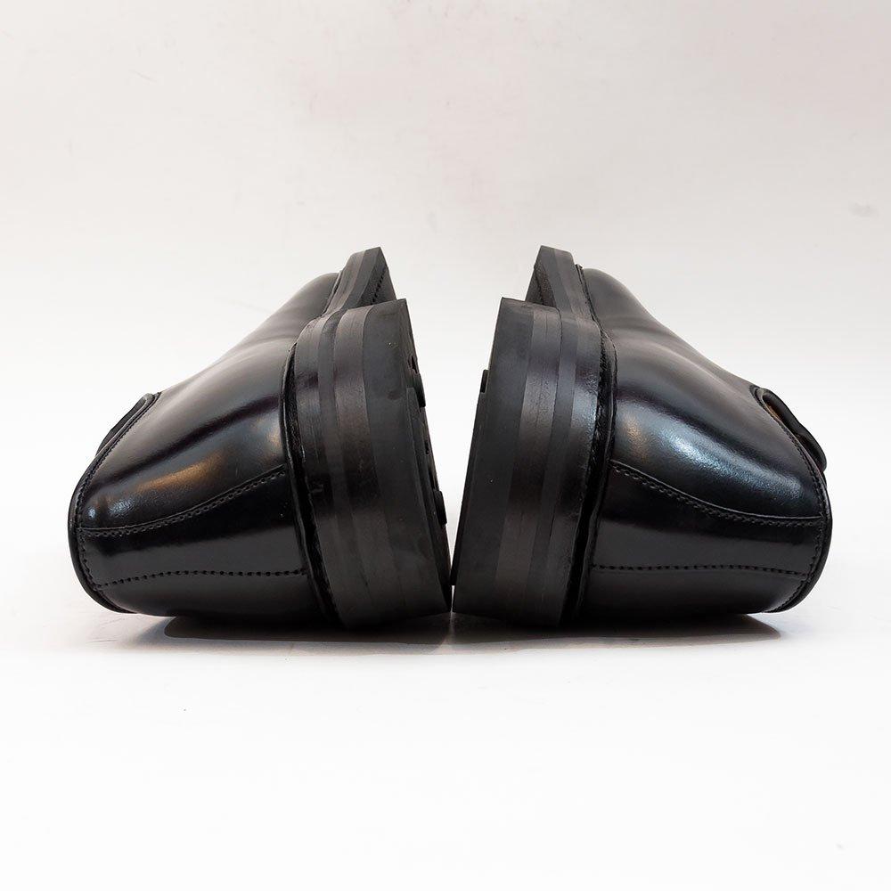クロケット&ジョーンズ LANARK3【ラナーク】プレーントゥ ブラック コードバン サイズ7.5E