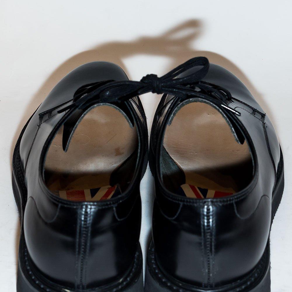 チャーチ LEYTON5【レイトン】プレーントゥ ブラック ロイスカーフ サイズ70F