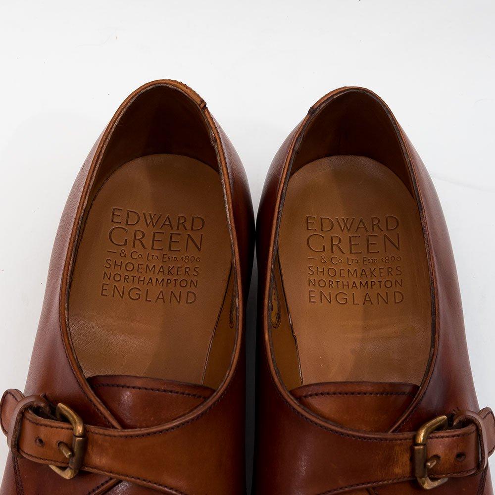 エドワードグリーン SHELLEY【シェリー】シングルモンク チェスナットアンティーク 606 サイズ6D