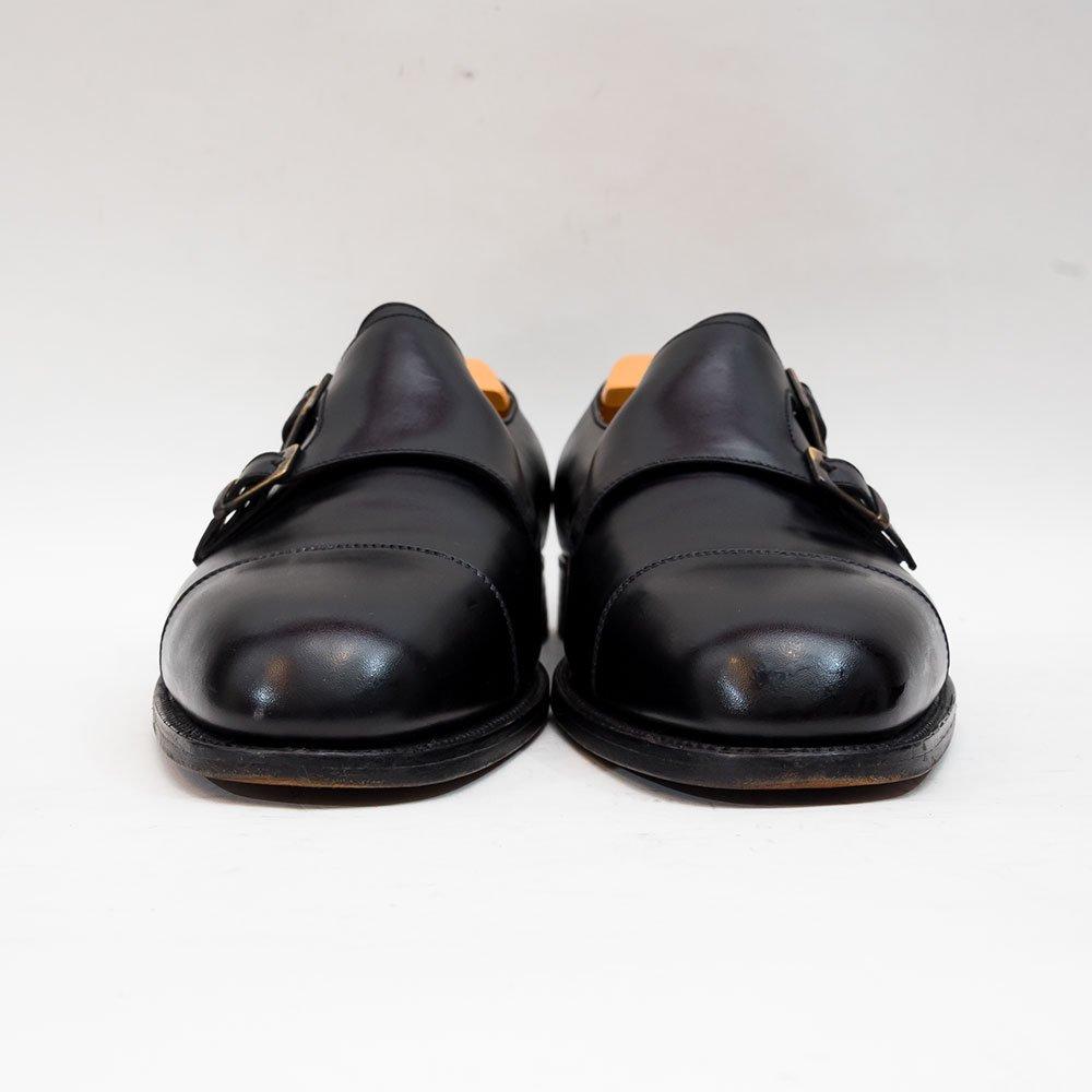 ジェイエムウエストン 537 ダブルモンク ブラック ボックスカーフ レアモデル サイズ8D