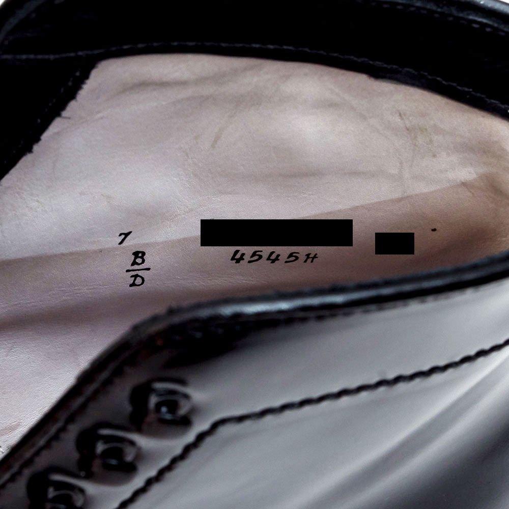 オールデン 4545H タンカーブーツ ブラック コードバン スターウォーズコラボモデル 世界限定30足 サイズ7D