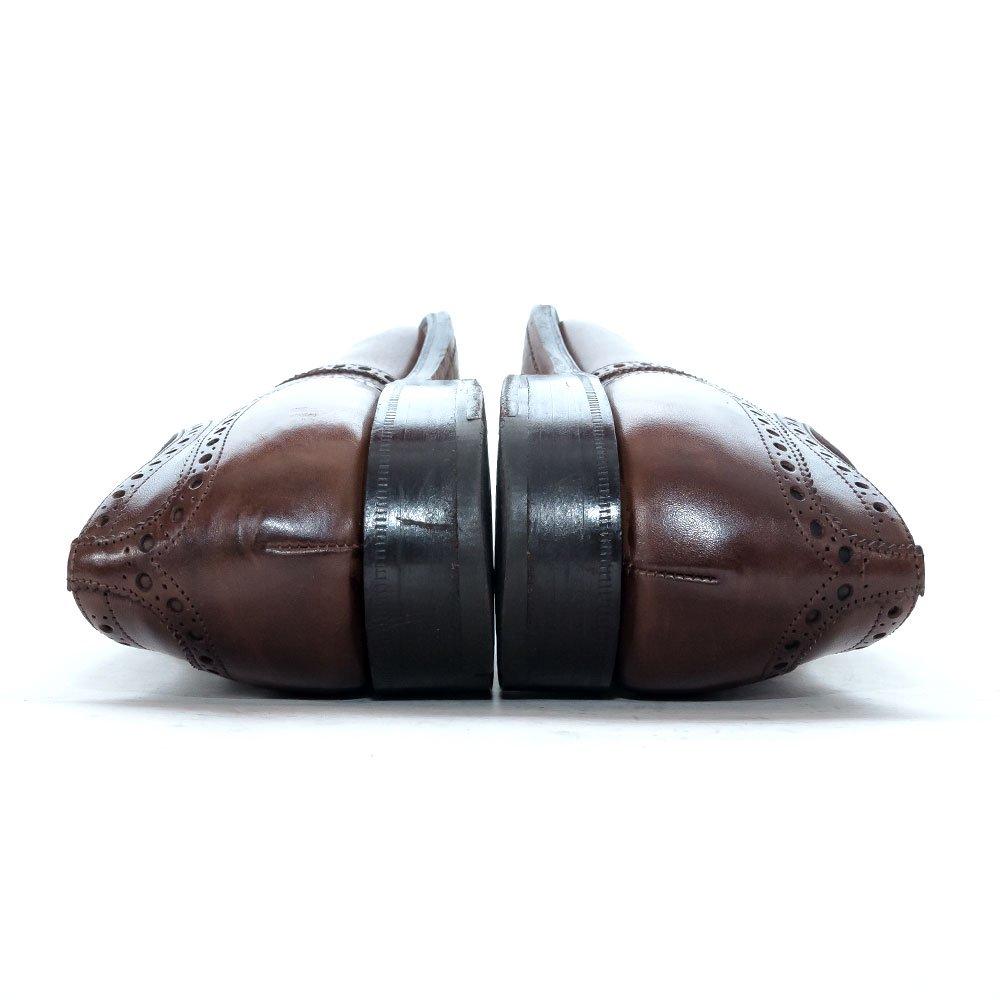 チャーチ DIPLOMAT【ディプロマット】内羽根セミブローグ ブラウン エボニー ネバダカーフ サイズ6.5F