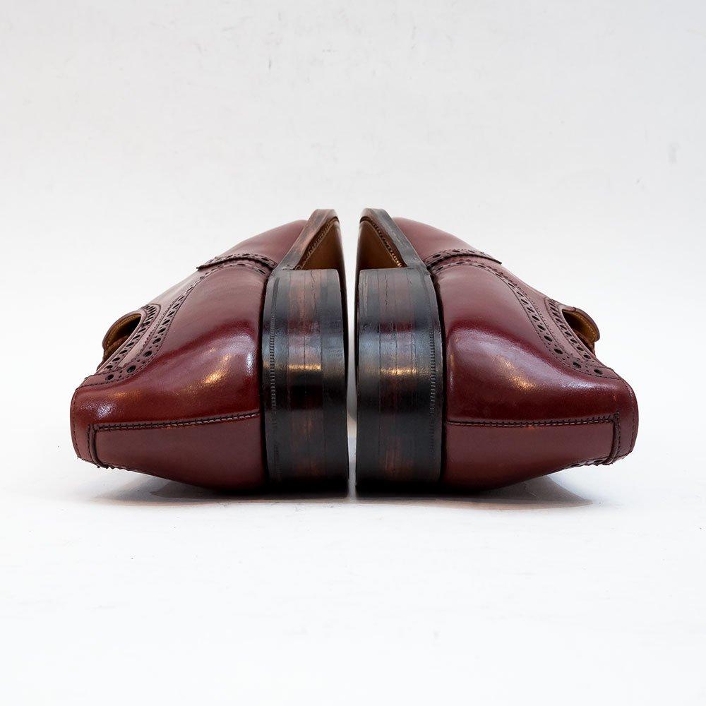 クロケット&ジョーンズ WESTMINSTER【ウエストミンスター】セミブローグ バーガンディ サイズ7.5E