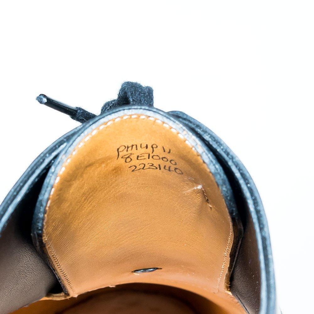 ジョンロブ PHILIP II【フィリップ2】パンチドキャップトゥ ブラック プレステージライン サイズ8E