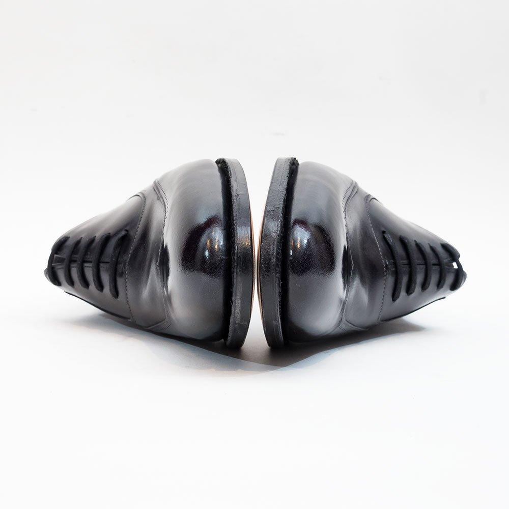 ジョンロブ STRAND【ストランド】内羽根ウィングチップ ブラック ミュージアムカーフ 2020イヤーモデル サイズ5.5E