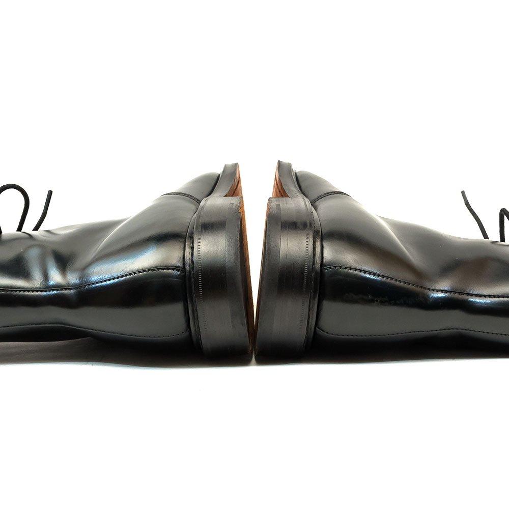 クロケット&ジョーンズ HARLECH レースアップブーツ ブラック コードバン サイズ8E