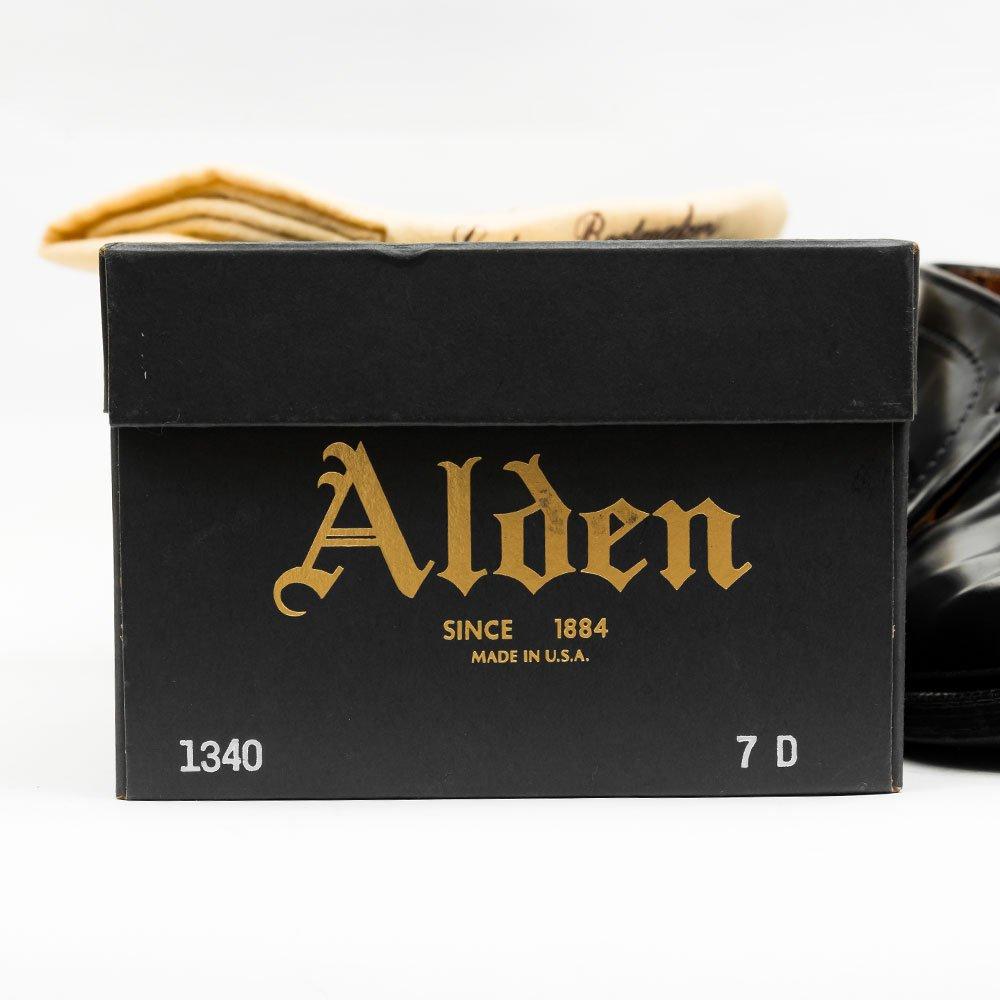 オールデン 1340 チャッカブーツ ブラック コードバン サイズ7D