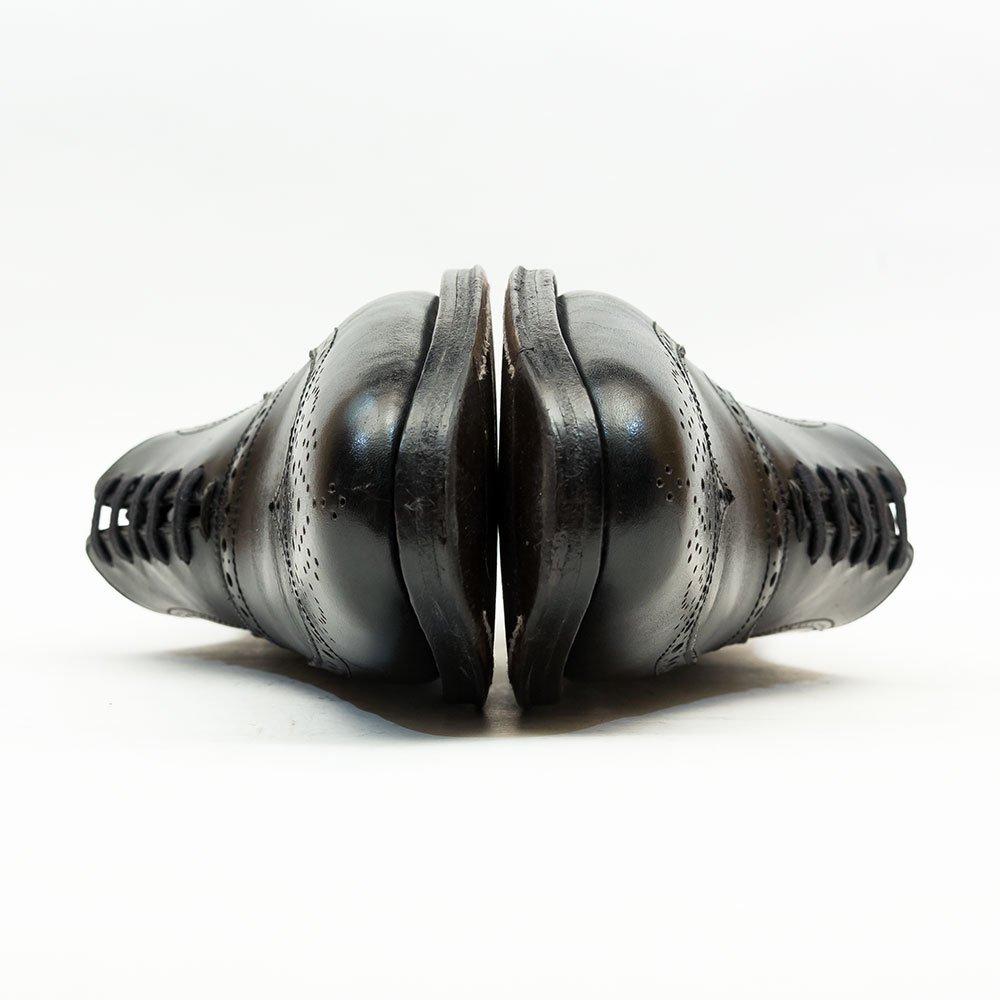 ジャランスリワヤ 98443 内羽根ウィングチップ フルブローグ ブラック   サイズ6