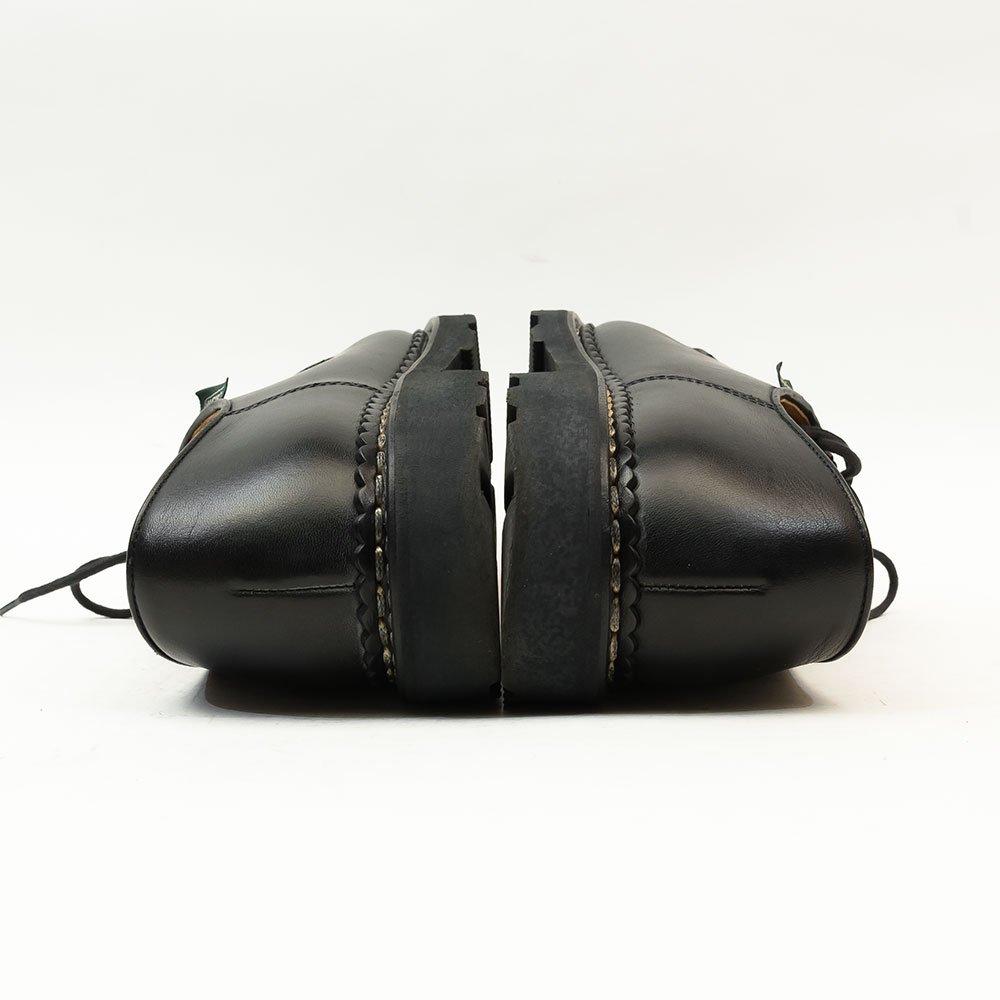 パラブーツ MICHAEL【ミカエル】チロリアンシューズ ブラック リスレザー サイズ40.5