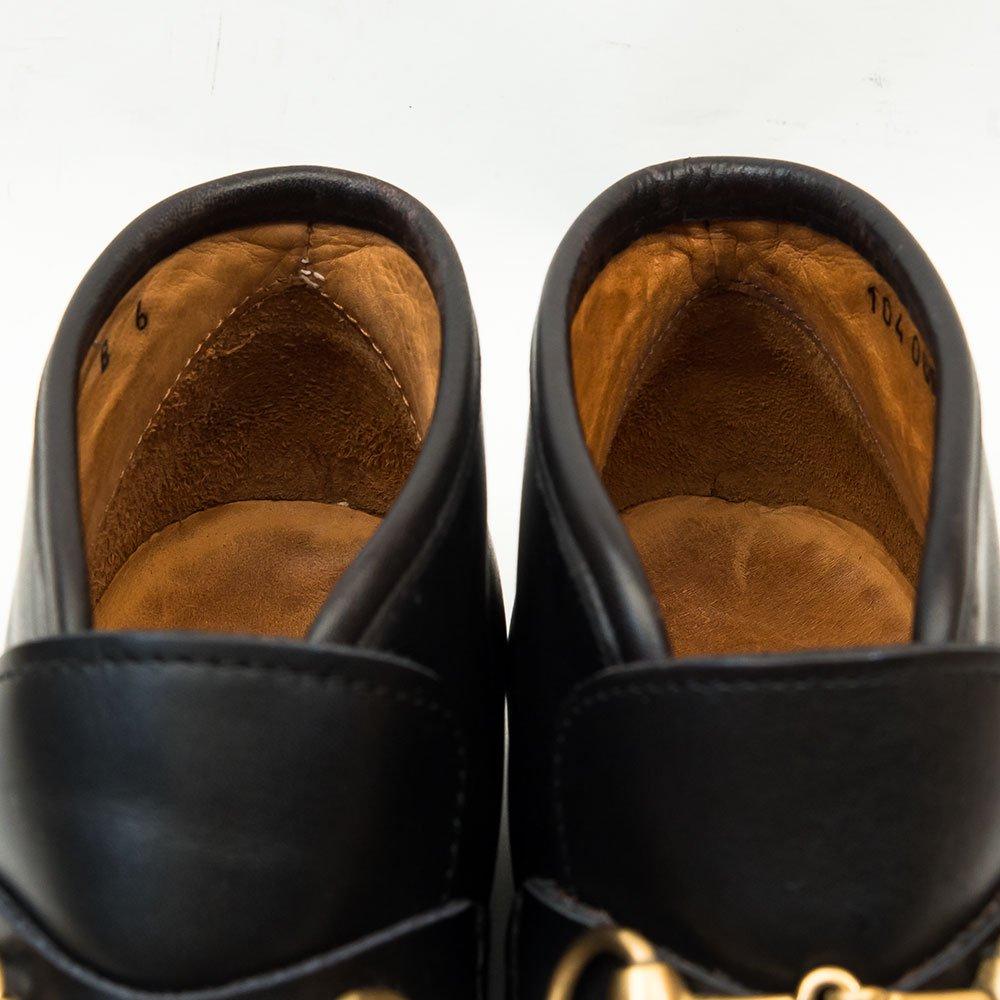 グッチ ビットローファー ブーツ レディース 22〜22.5� サイズ6B