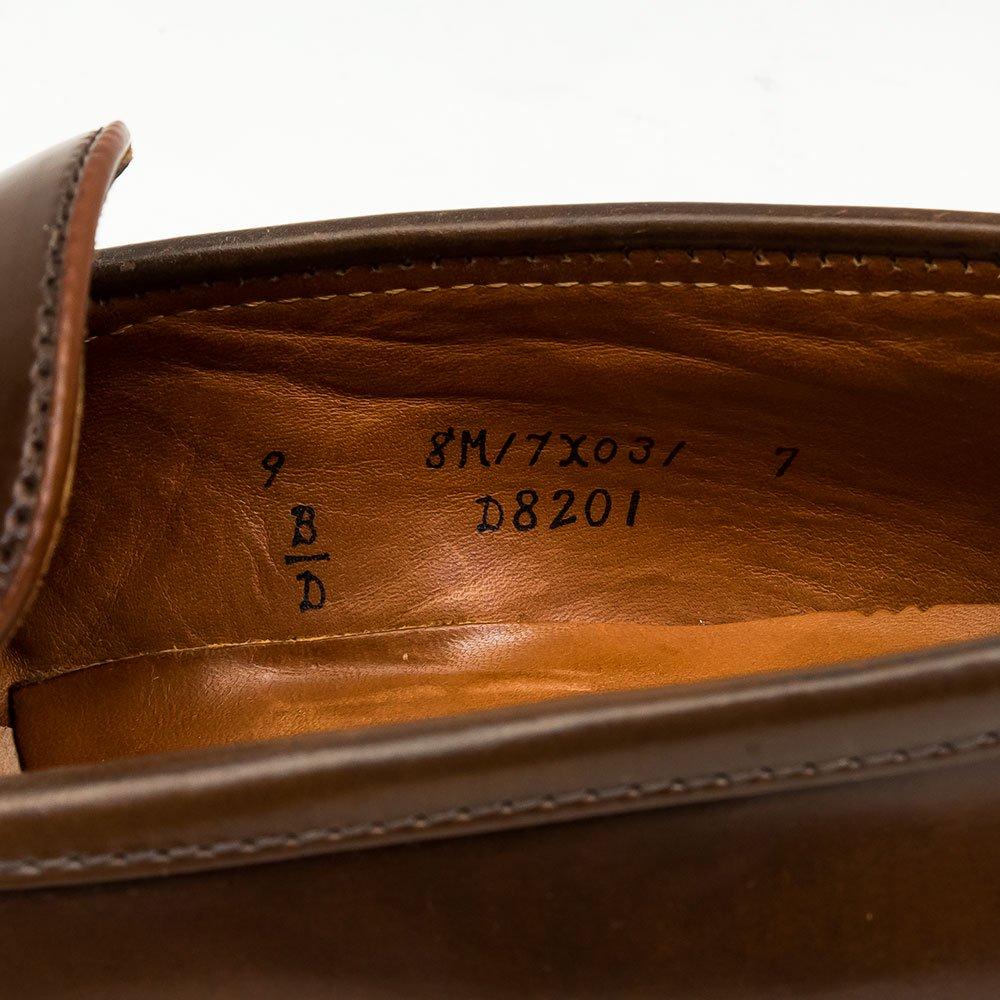 オールデン D8201 コインローファー ラベロコードバン Miller Brothers別注 サイズ9D
