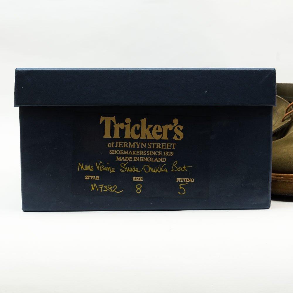 トリッカーズ M7382 チャッカブーツ ガウチョスエード ボーイズマーケット別注 サイズ8Fitting5