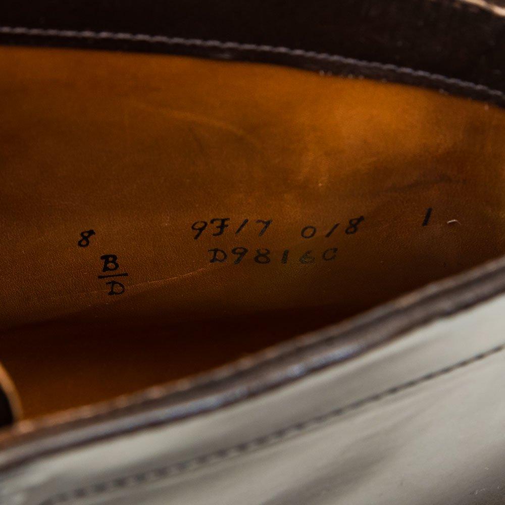 オールデン D9816C キャップトゥ レースアップブーツ シガーコードバン Armorny NY別注 サイズ8D