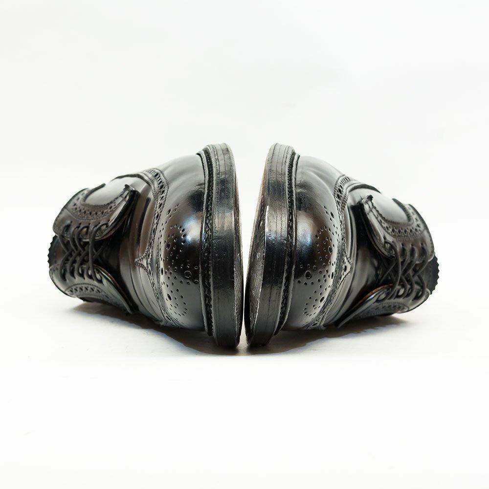 オールデン 9751 ロングウィングチップ コードバン ブラック サイズ8D