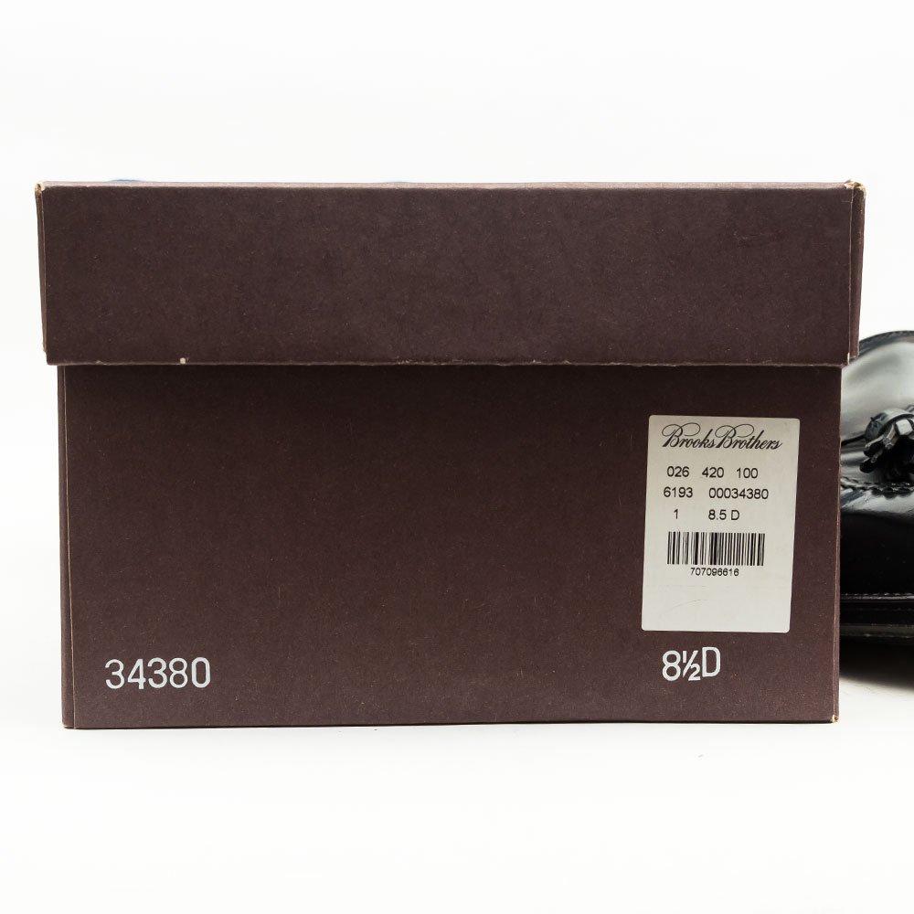 オールデン 34380 タッセルローファー ブラック コードバンブルックスブラザーズ別注 サイズ8.5D
