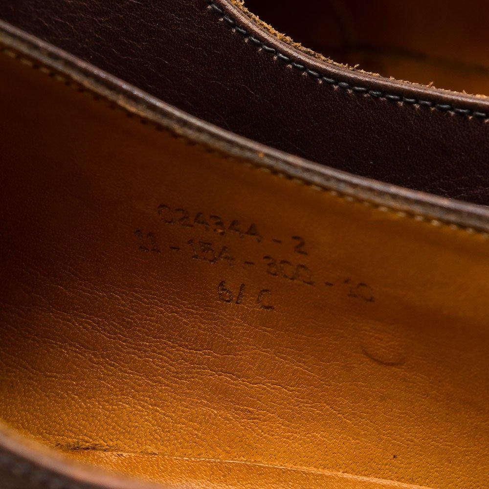 ジェイエムウエストン 300 内羽根ストレートチップ ブラウン サイズ6.5C