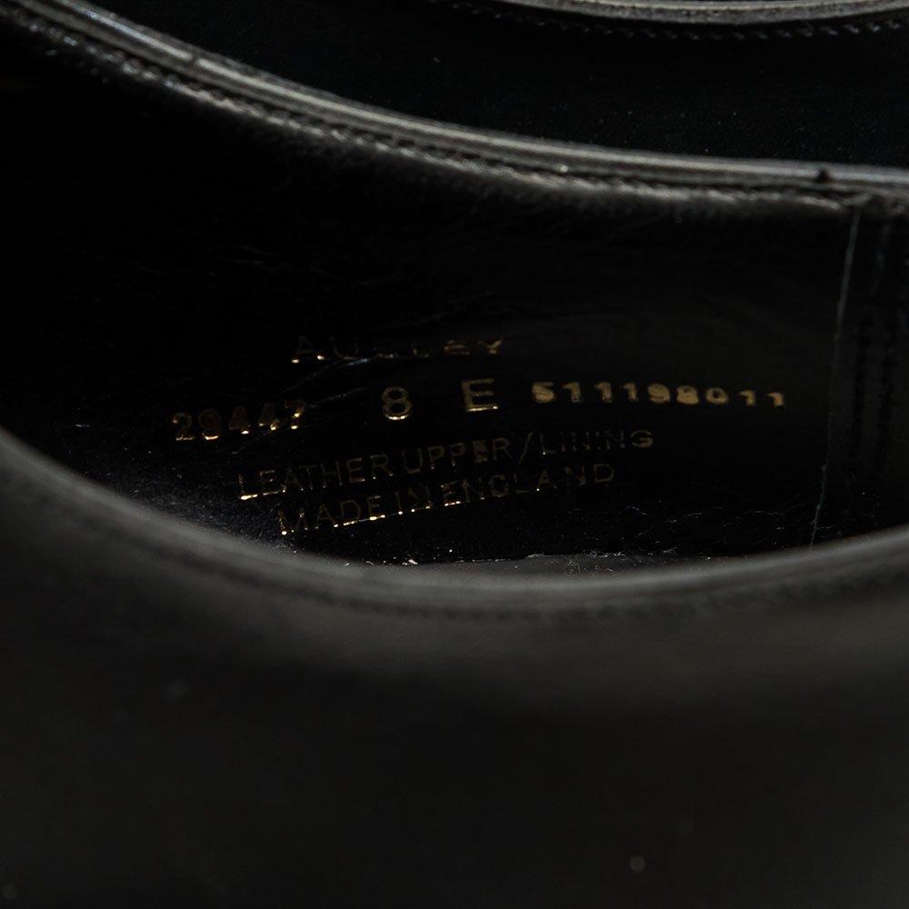 クロケット&ジョーンズ AUDREY【オードリー】内羽根ストレートチップ ブラック ハンドグレードライン サイズ8E