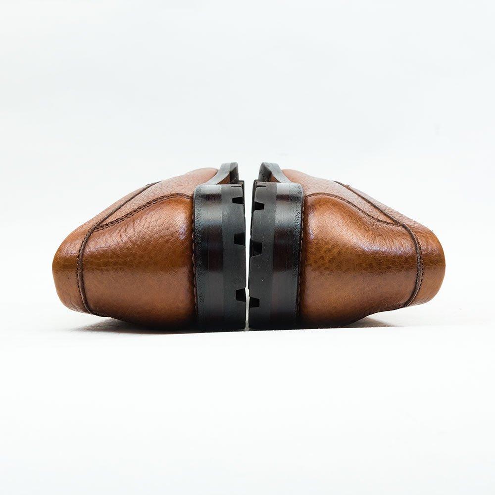 カルミナ 80678 コインローファー ブラウン グレインレザー サイズ8.5
