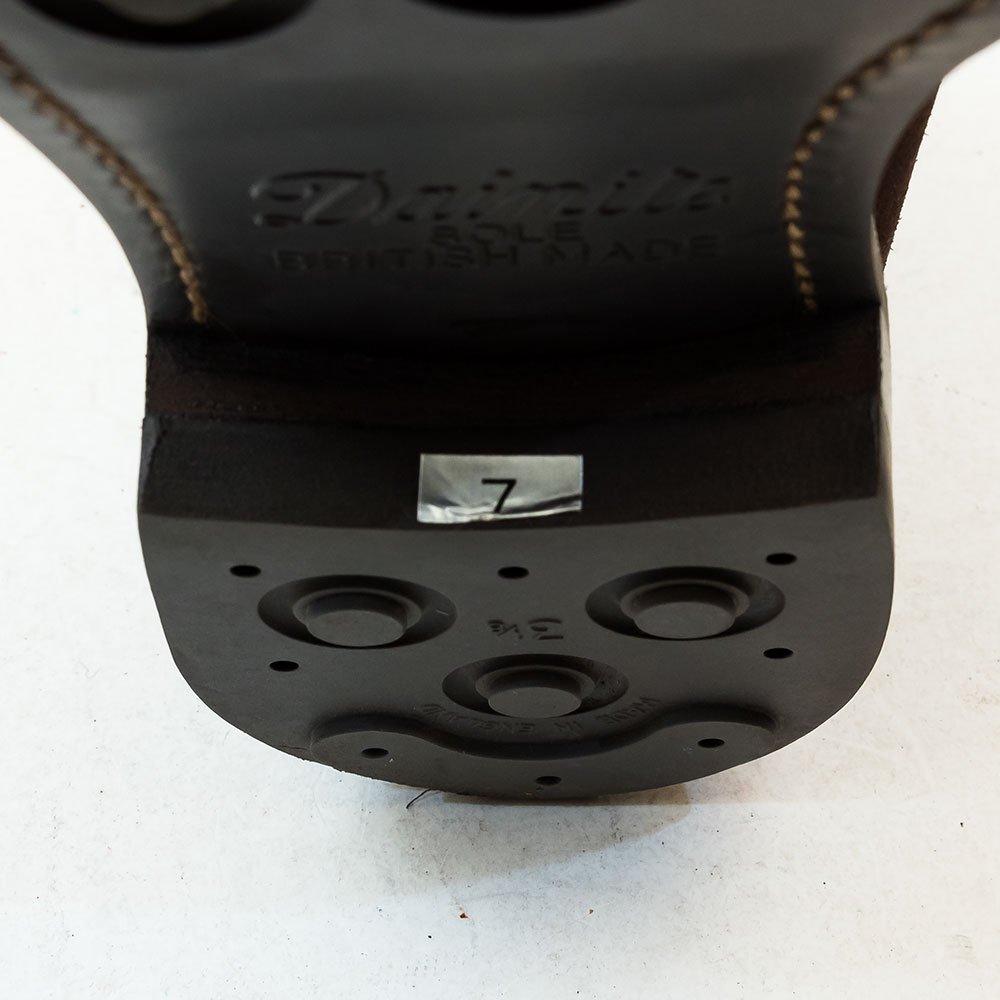 レンド 7706 チャッカブーツ ダークブラウン スエード グッドイヤーウエルト製法 サイズ7