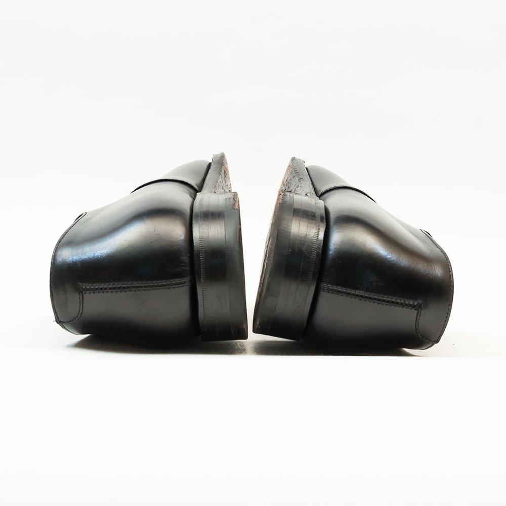 クロケット&ジョーンズ AUDLEY(オードリー)内羽根ストレートチップ ブラック ハンドグレード サイズ7E