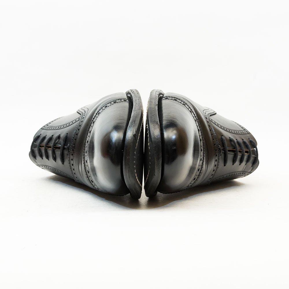 スコッチグレイン D0008 内羽根クォーターブローグ ブラック 大丸松坂屋限定モデル サイズ25E