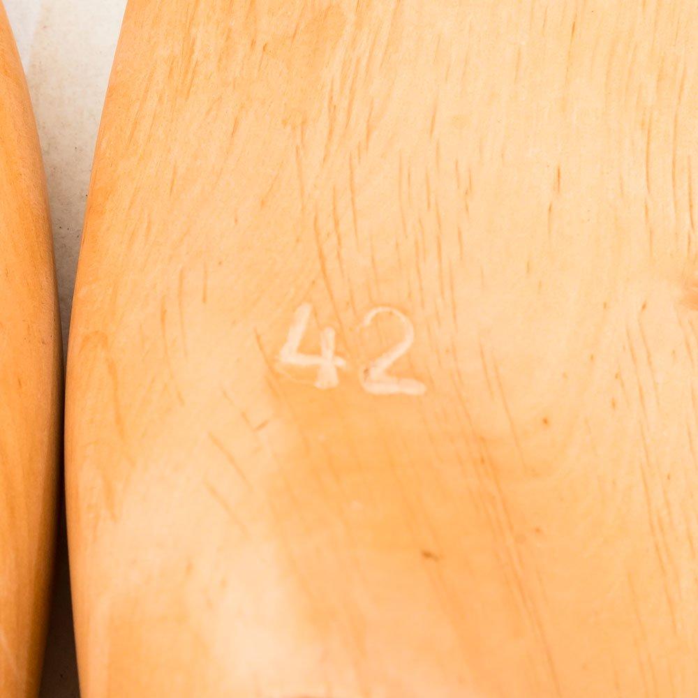 ヴァーシュ ALT WIEN 外羽根セミブローグ ブラウン サイズ42