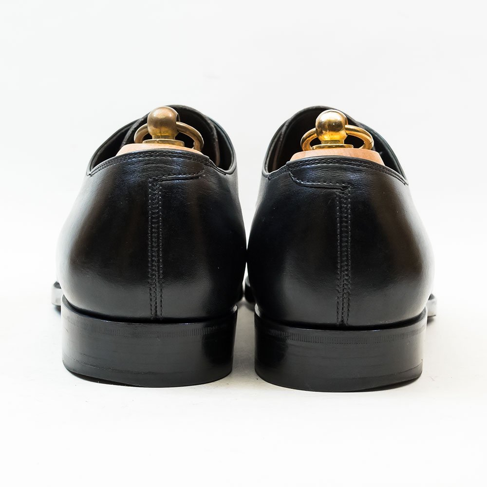 ココン 406L 内羽根ストレートチップ アノネイ ブラック KO-1ラスト サイズ7.5