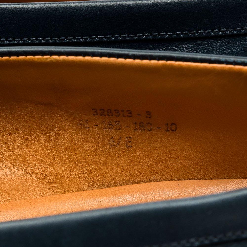 ジェイエムウエストン 180 シグニチャーローファー ネイビー サイズ6.5E