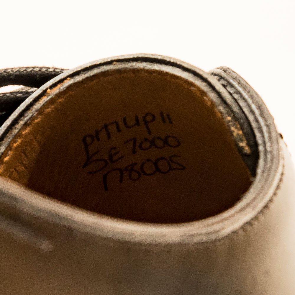 ジョンロブ PHILIP�(フィリップ2)パンチドキャップトゥ ブラック プレステージ サイズ5E