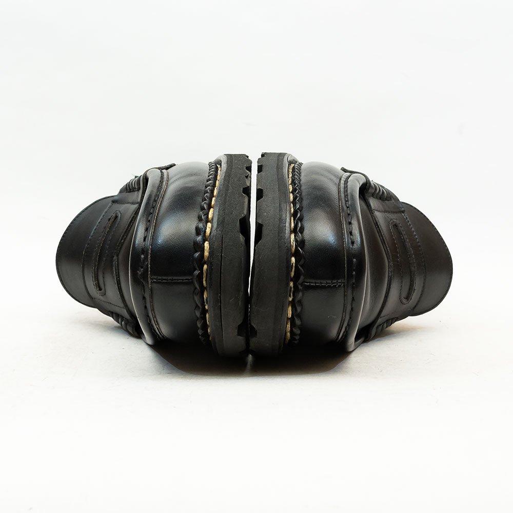 パラブーツ RAIMS(ランス)コインローファー ブラック リスレザー サイズ7