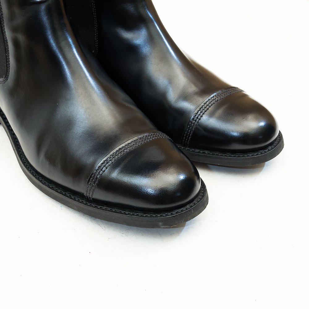 サンダース サイドゴアブーツ ブラック サイズ8