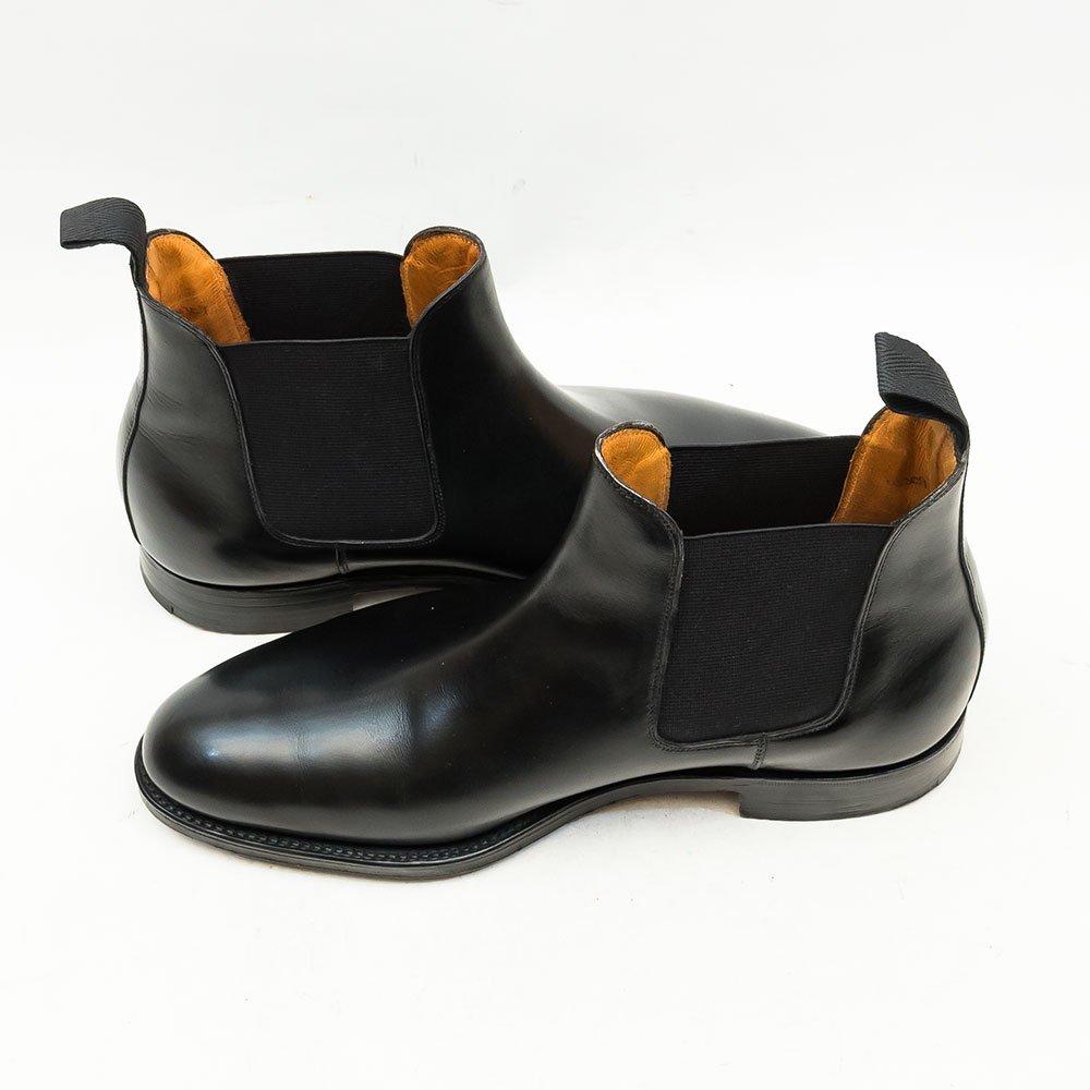 ジョンロブ CHESLAND(チェスランド)サイドゴアブーツ ブラック サイズ6.5E