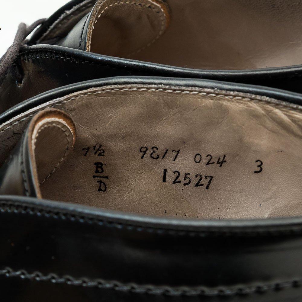 オールデン 12527 チャッカブーツ コードバン ブラック  サイズ7.5D