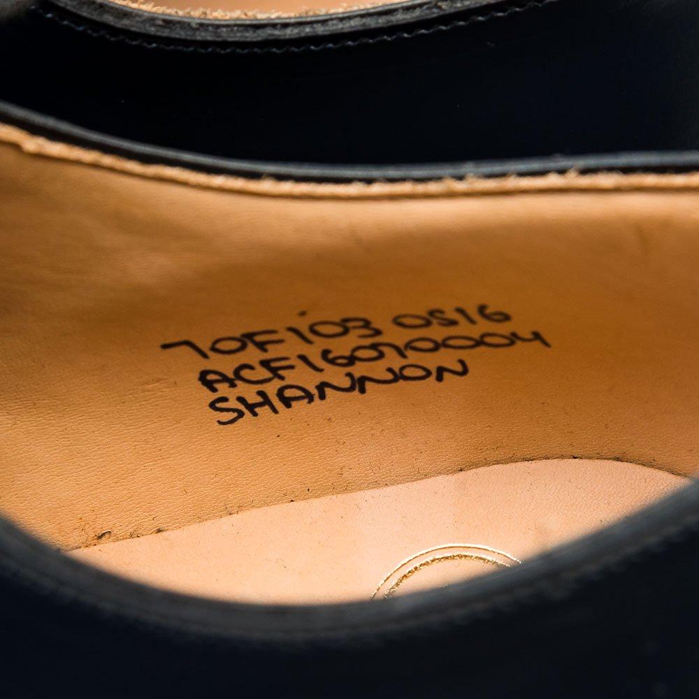 チャーチ SHANNON(シャノン) ネイビー ポリッシュドバインダー サイズ70F